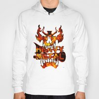 heavy metal Hoodies featuring Heavy Metal by Lindsay Spillsbury