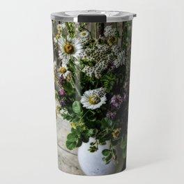 July Bouquet Travel Mug