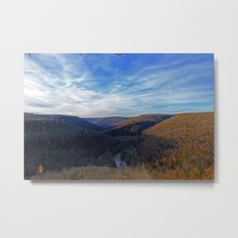 At World's End Metal Print