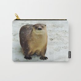 Snow otter Carry-All Pouch