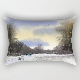 Snow day Rectangular Pillow