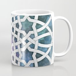Galaxy Cutout Coffee Mug