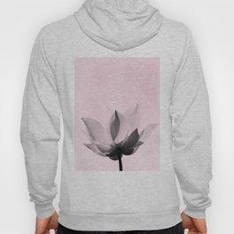 Lotus Flower   Pink Background Hoody