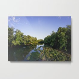 The White River Metal Print