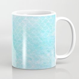 Limpet blue small scallops with paper texture Coffee Mug