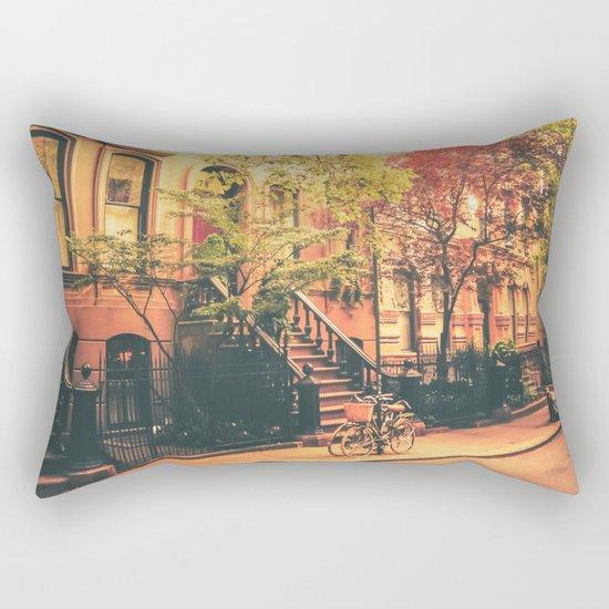 New York City Summer Rectangular Pillow