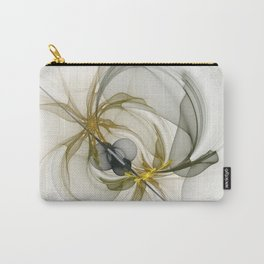 Together We Are Strong, Abstract Fractal Art Carry-All Pouch