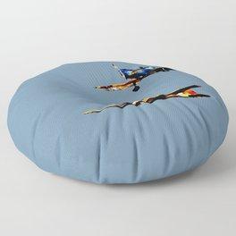 The Joy of Flight Floor Pillow