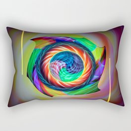 Abstract in perfection 121 Rectangular Pillow