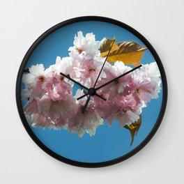 Cheery Blossom Up Close Wall Clock