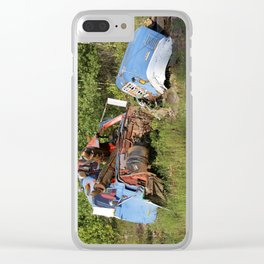 Junk Yard Clear iPhone Case