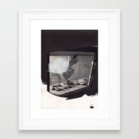 arizona Framed Art Prints featuring arizona by carleyrae weber