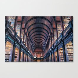 Dublin, Ireland Trinity College Library Canvas Print