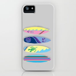 Four Surfboards iPhone Case