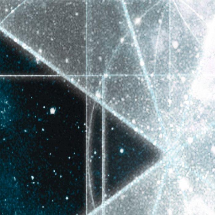 Sacred Geometry : Teal Galaxy Leggings