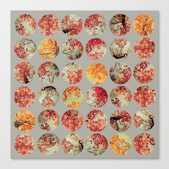 Inkblot Quilt - by Garima Dhawan and Joy StClaire Canvas Print