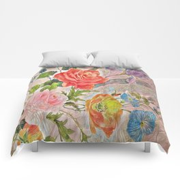 Spring Floral - Painterly Comforters