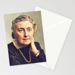 Agatha Christie, Literary Legend Stationery Cards
