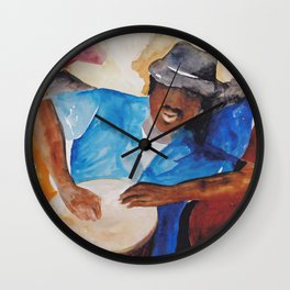 Coastal Musicians Wall Clock