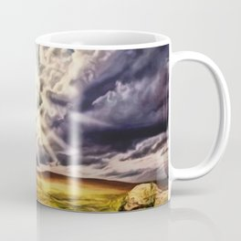 'May the Road Rise Up to Met You' Landscape Painting by Jeanpaul Ferro Coffee Mug