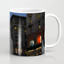 City Lights at Sunset Coffee Mug