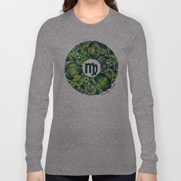 Virgo in Petrykivka style (with signature) Long Sleeve T-shirt