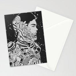 Space Nouveau Stationery Cards