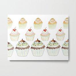 Have a Cupcake! Metal Print