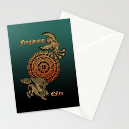 Fenghuang and Qilin Stationery Cards