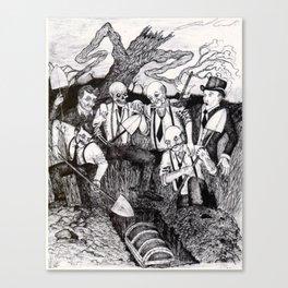 Tragedy of Highbar Harbor Canvas Print