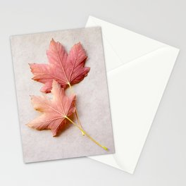 Maple Reds Stationery Cards