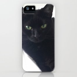 Phoebe the Cat Chilaxing iPhone Case
