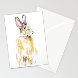 Hare Bunny Stationery Cards