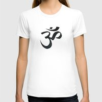 om T-shirts featuring OM by Vicinnitie