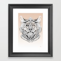 Tion Distinguished Framed Art Print