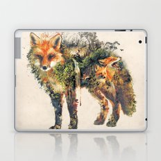 The Fox Nature Surrealism Laptop & iPad Skin