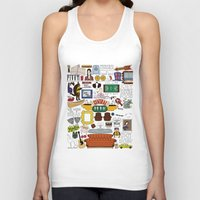 collage Tank Tops featuring Collage by Loverly Prints