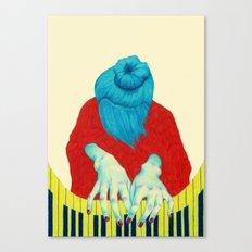 Piano Passion Canvas Print
