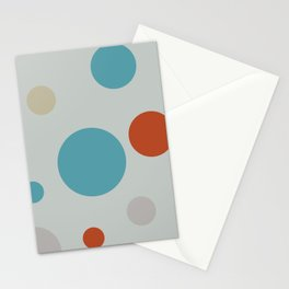 Running Circles Stationery Cards