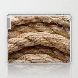 Sisal rope Laptop & iPad Skin