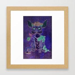 """""""Rio The Fennec Fox"""" Framed Art Print"""