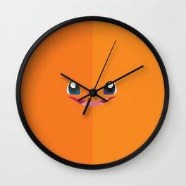 Char Char Wall Clock