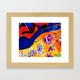 Until the River runs Dry         by Kay Lipton Framed Art Print
