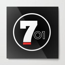 701 - El Chapo Metal Print