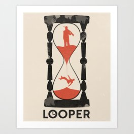 Looper Art Print