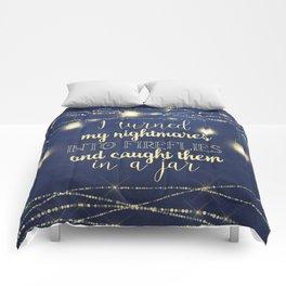 Nightmares Into Fireflies Comforters