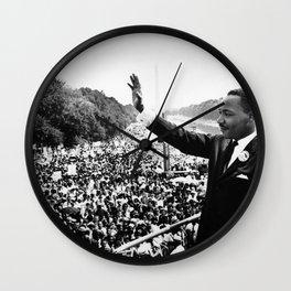 Martin Luther King Speech Wall Clock