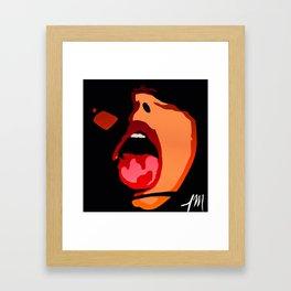 Dark Room Framed Art Print