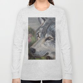 The Grey Wolf Long Sleeve T-shirt