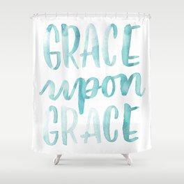 Grace Upon Grace Shower Curtain